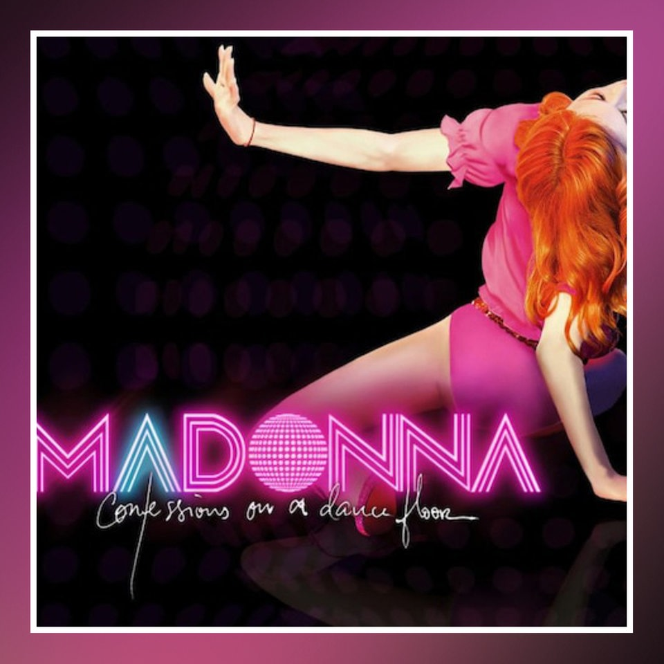 Cover: Madonna, Confessions On a Dance Floor, 2005, Warner Music