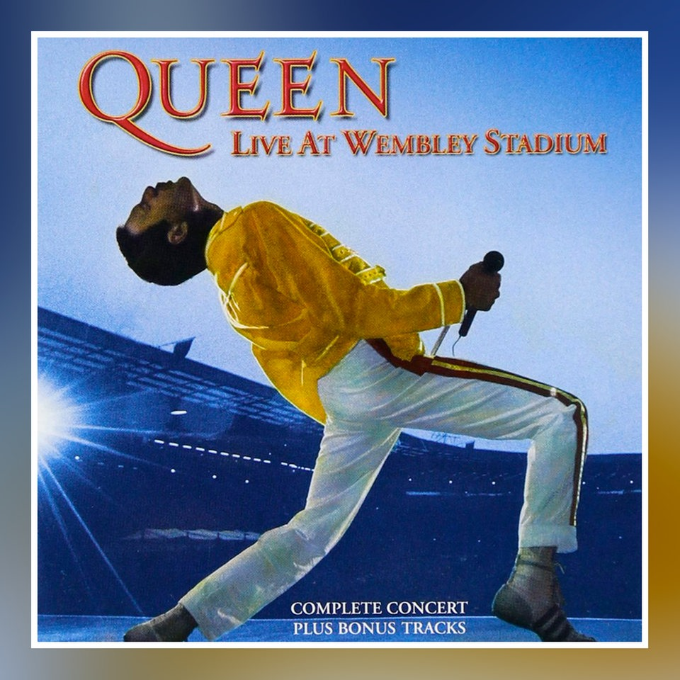 Cover: Queen: Live at Wembley Stadium